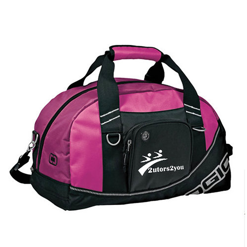 Ogio Pink Half Dome Bag '2utors2you'