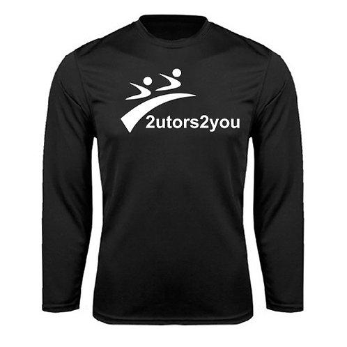 Performance Black Longsleeve Shirt '2utors2you'