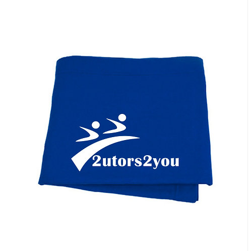Royal Sweatshirt Blanket '2utors2you'