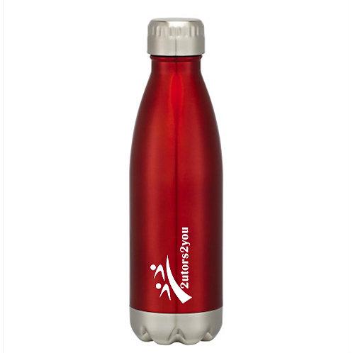 Swig Stainless Steel Red Bottle 16oz '2utors2you'
