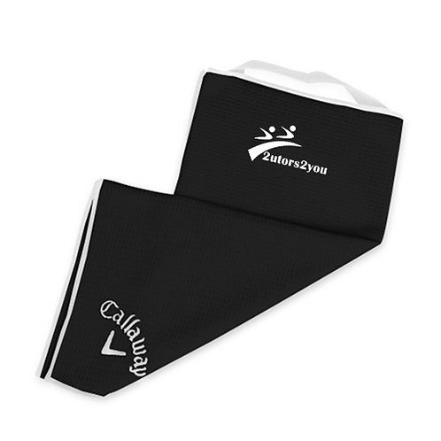 Callaway Black Players Towel '2utors2you'