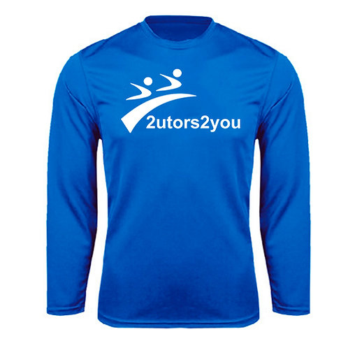 Performance Royal Longsleeve Shirt '2utors2you'