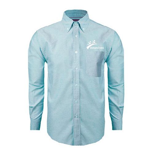 Light Blue Oxford Long Sleeve Shirt '2utors2you'