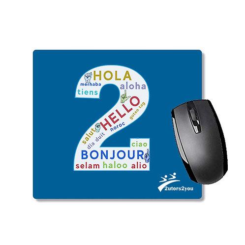 Full Color Mousepad '2utors2you Language'