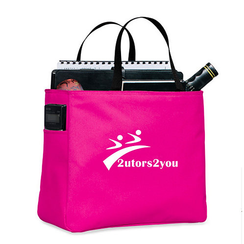 Tropical Pink Essential Tote '2utors2you'