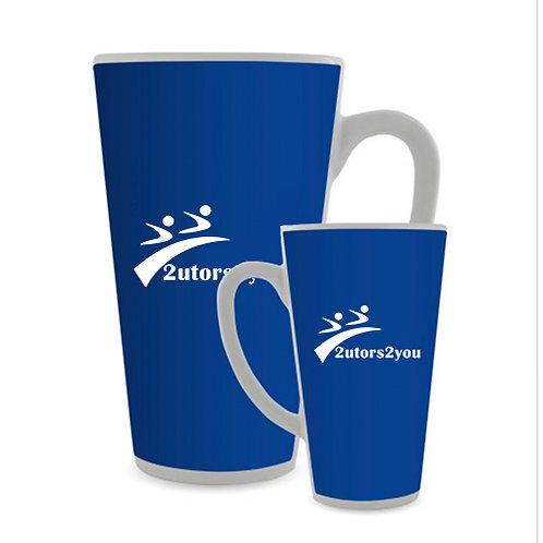 Full Color Latte Mug 17oz '2utors2you'