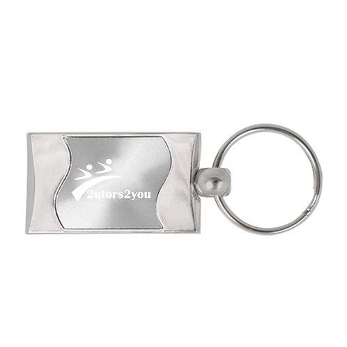 Silverline Silver Wave Key Holder '2utors2you'