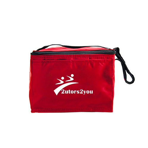 Six Pack Red Cooler '2utors2you'