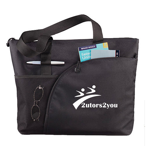 Excel Black Sport Utility Tote '2utors2you'
