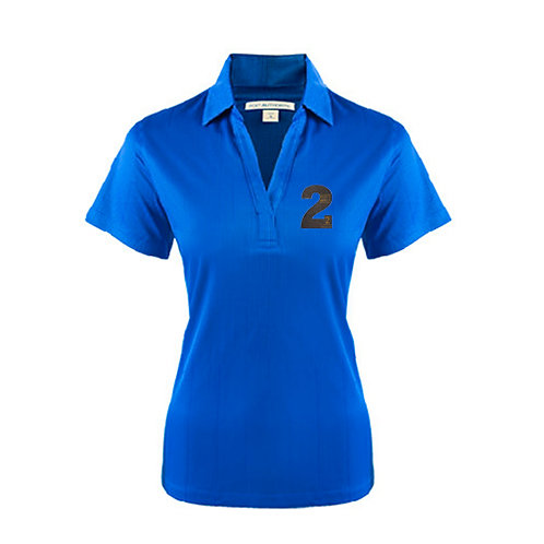 Ladies Royal Performance Fine Jacquard Polo '2utors2you Bible'