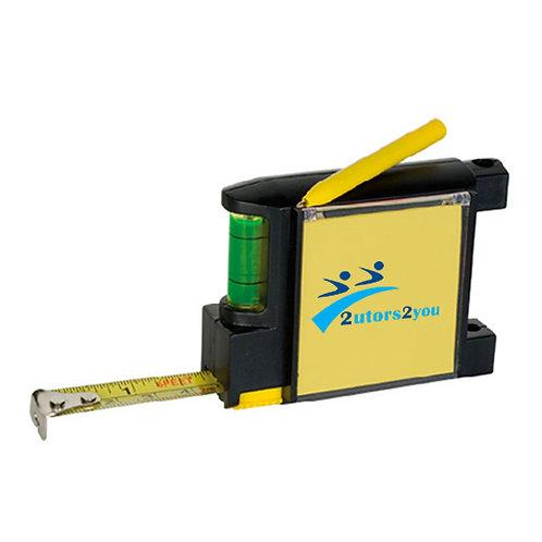 Measure Pad Leveler 6 Ft. Tape Measure '2utors2you'