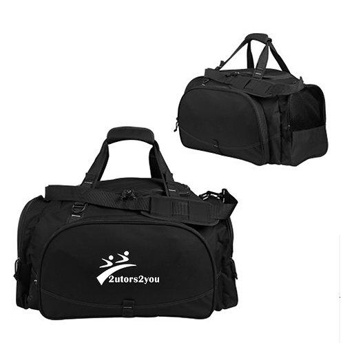 Challenger Team Black Sport Bag '2utors2you'