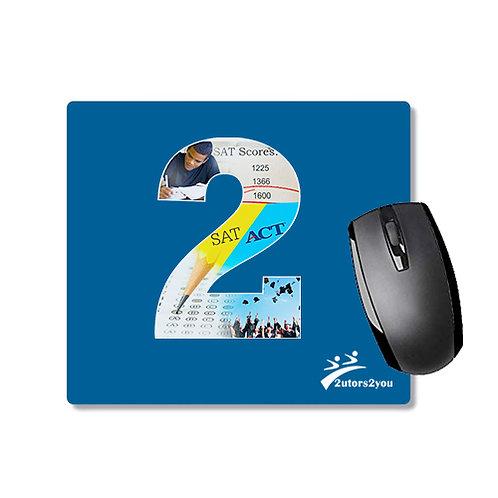 Full Color Mousepad '2utors2you SAT/ACT'