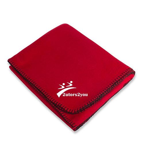 Red Arctic Fleece Blanket '2utors2you'