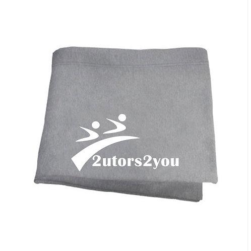 Grey Sweatshirt Blanket '2utors2you'