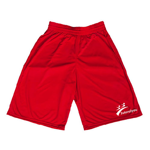 Performance Classic Red 9 Inch Short '2utors2you'