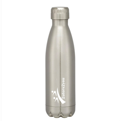 Swig Stainless Steel Silver Bottle 16oz '2utors2you'