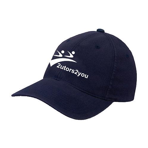 Navy OttoFlex Unstructured Low Profile Hat '2utors2you'
