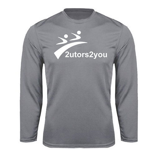 Performance Grey Longsleeve Shirt '2utors2you'
