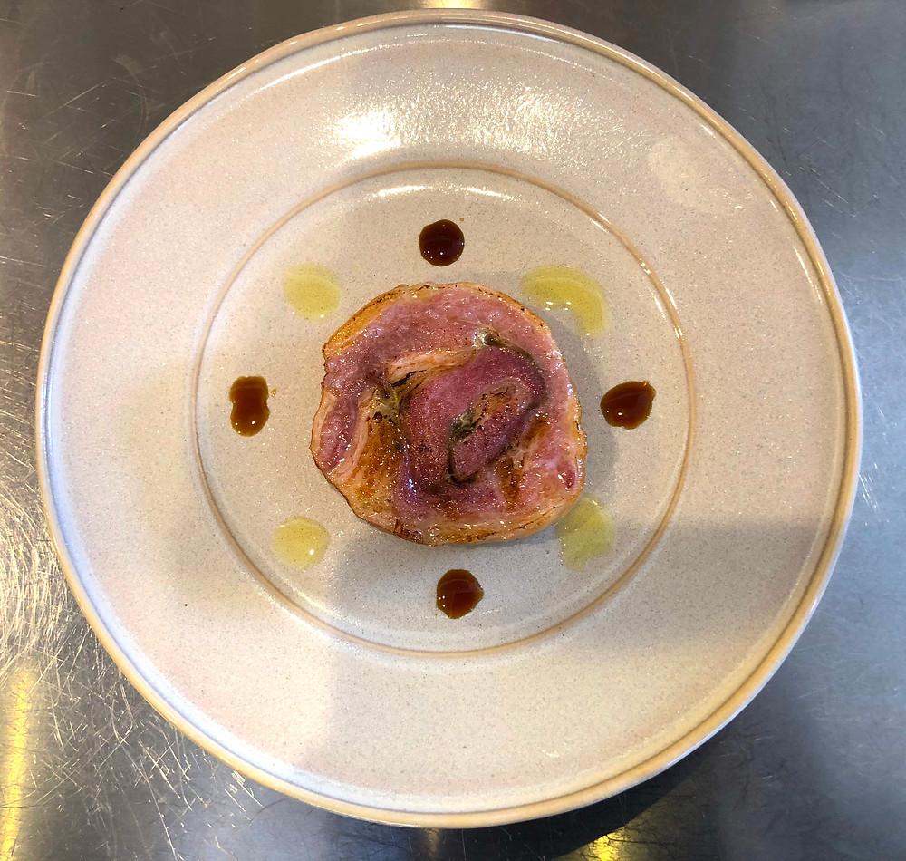 豚バラ肉のポルケッタ