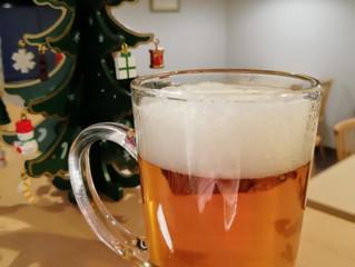 ホットビール始めます。