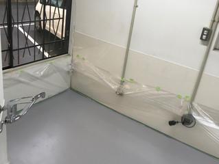 醸造室 塗装完了