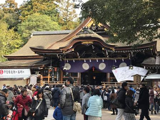 三輪明神大神神社へ初詣