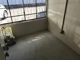 醸造室 塗床しました。