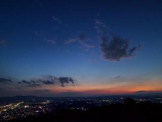 奈良の美味いと自然を楽しむ!  春日山マジックアワーハイク