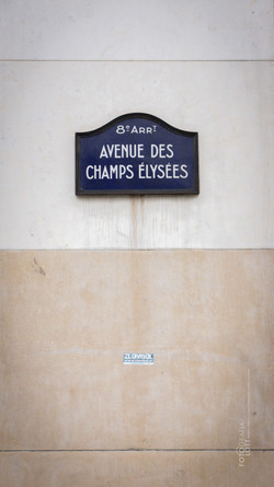 Placa Champs-Élysées