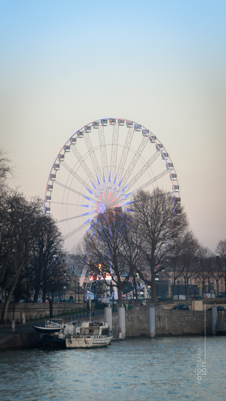 Roda gigante da Place de la Concor