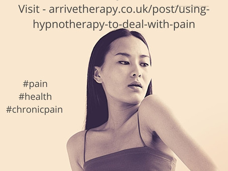 Using hypnotherapy to deal with pain