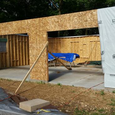 Garage-in process