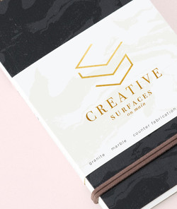notebook- creative surfaces