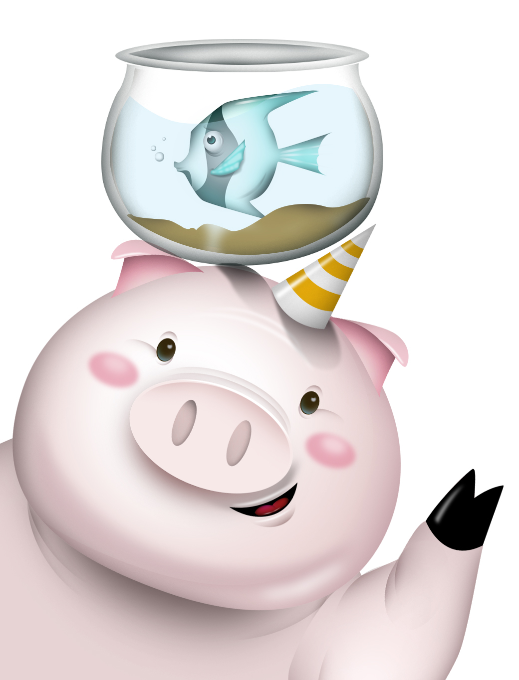 pig & fish
