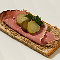 Liver Pate and Corned Beef