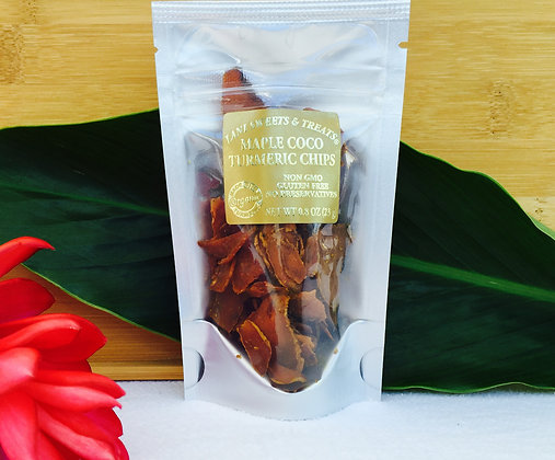 Maple Coco Turmeric Chips
