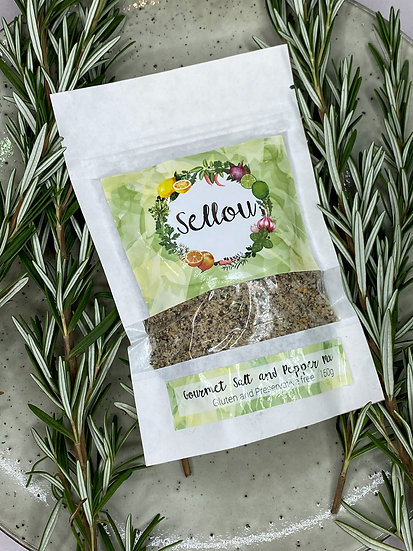 Sellou Gourmet Salt & Pepper Mix
