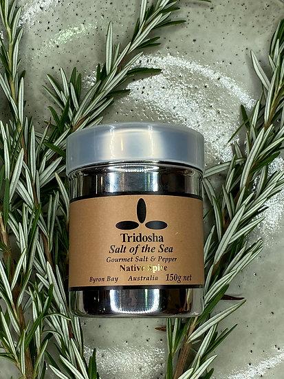 Tridosha Salt & Pepper Tin