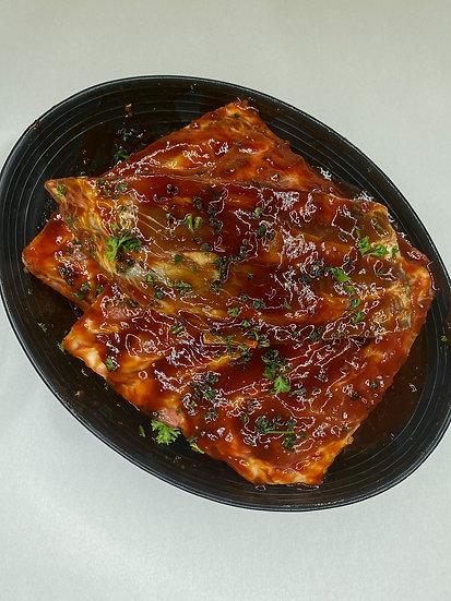 American Pork Ribs in Honey BBQ Sauce