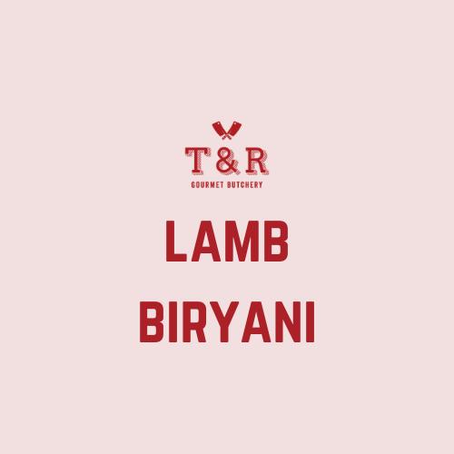 Lamb Biryani Pack