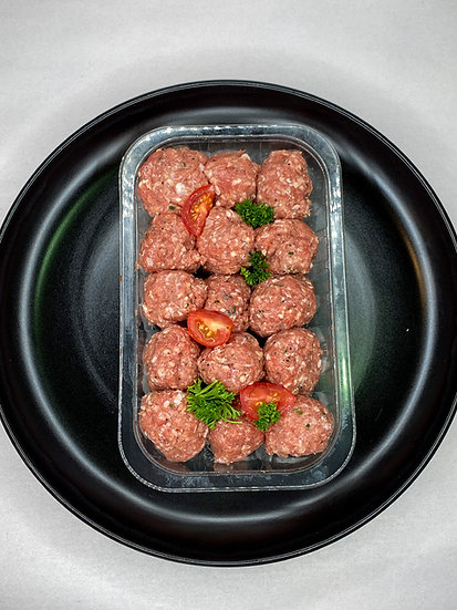 Veal & Chive Meatballs