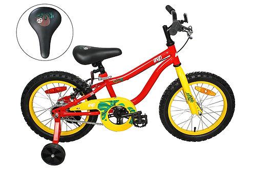 AVP K16 Vélo pour enfants rouge/jaune