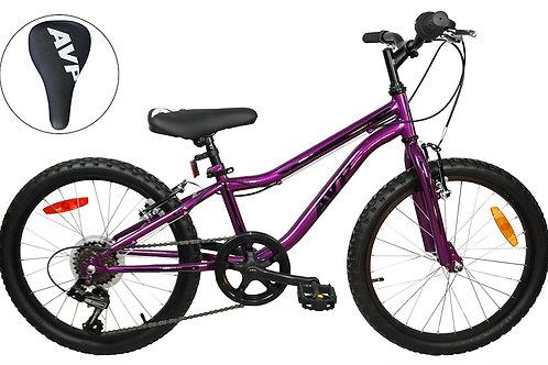 AVP K20 7 vitesses Vélo pour enfants Mauve