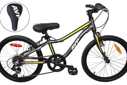 AVP KS20 Vélo pour enfantsCjarcoal/Jaune