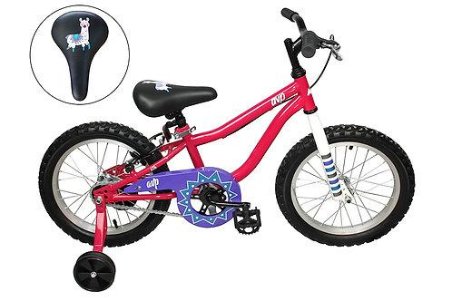 AVP K16 Vélo pour enfants rose/mauve