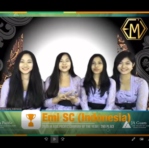 2nd Place, Emi Student Company (Indonesia)