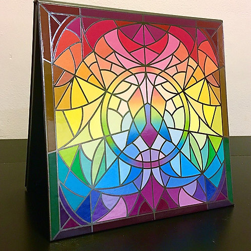 Stained Glass Empty Magnetic Palette