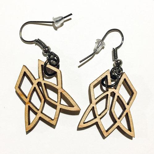 Symbol Earrings - Maple