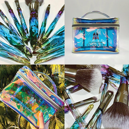 Stained Glass Accessories (Bag + Brush Set)